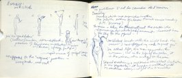 Untitled (Etienne Decroux Summer Courses in Mime), Illustration 35 in the book Sketchbook (Europe, Ballet)
