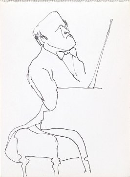 Untitled (Sviataslov Richter), Illustration 2 in the book Sketchbook (Music)