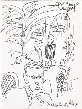 Garden Court Palace, Illustration 4 in the book Sketchbook (Music)