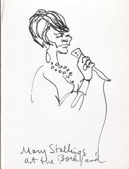 Mary Stallings at the Both/and, Illustration 6 in the book Sketchbook (Music)
