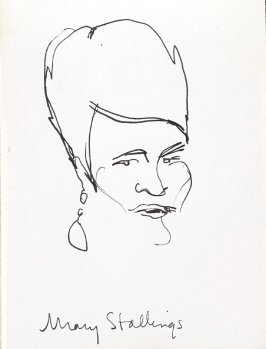 Mary Stallings, Illustration 7 in the book Sketchbook (Music)
