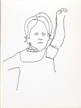 Untitled (Child), Illustration 12 in the book Sketchbook (Music)