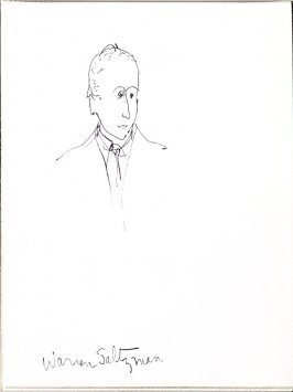 Warren Saltzman, Illustration 18 in the book Sketchbook (Music)