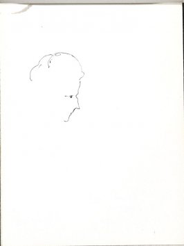 Untitled (Head), Illustration 19 in the book Sketchbook (Music)