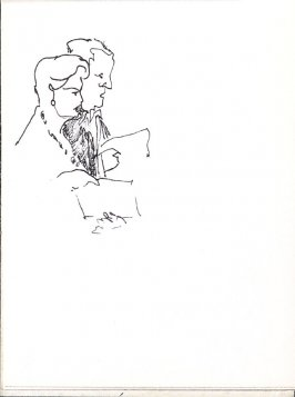Untitled (Couple), Illustration 24 in the book Sketchbook (Music)