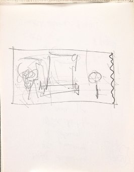 Untitled (Sketch), Illustration 26 in the book Sketchbook (Music)