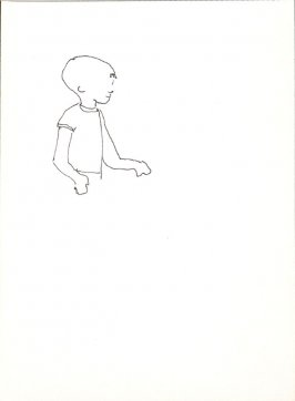 Untitled (Child), Illustration 6 in the book Sketchbook (Stern Grove)