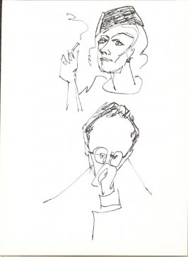 Untitled (Heads), Illustration 15 in the book Sketchbook (Stern Grove)