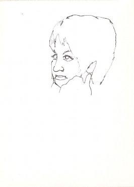 Untitled (Woman), Illustration 22 in the book Sketchbook (Stern Grove)