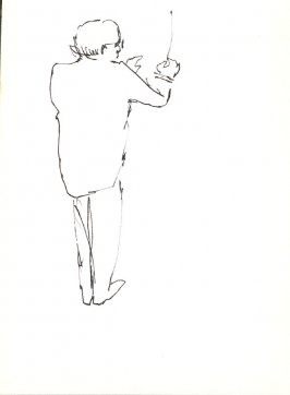 Untitled (Conductor), Illustration 35 in the book Sketchbook (Stern Grove)