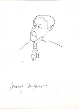 Benny Bufano, Illustration 38 in the book Sketchbook (Stern Grove)