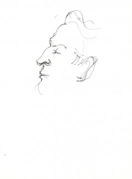 Untitled (Irving Fromer), Illustration 43 in the book Sketchbook (Stern Grove)