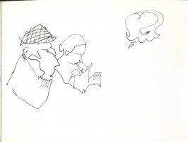 Untitled (Couple), Illustration 48 in the book Sketchbook (Stern Grove)