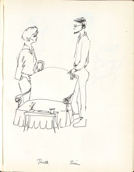 Ruth and Tim, Illustration 14 in the book Sketchbook (Washington and New York)