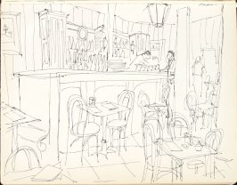 Martin's, Illustration 3 in the book Sketchbook (Washington and New York)