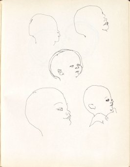 Untitled (Baby), Illustration 6 in the book Sketchbook (Washington and New York)