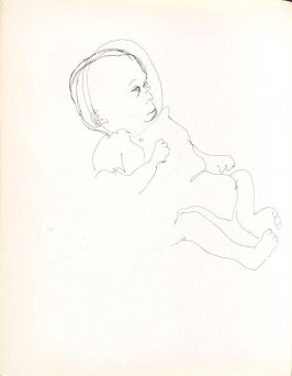Untitled (Baby), Illustration 7 in the book Sketchbook (Washington and New York)