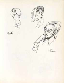 Ruth and Tim, Illustration 15 in the book Sketchbook (Washington and New York)