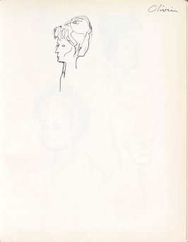 Olivia, Illustration 23 in the book Sketchbook (Washington and New York)
