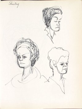 Shirley, Illustration 24 in the book Sketchbook (Washington and New York)