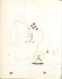 Untitled (Child's drawing), Illustration 27 in the book Sketchbook (Washington and New York)