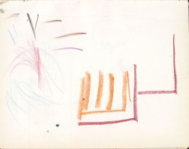 Untitled (Child's drawing), Illustration 28 in the book Sketchbook (Washington and New York)
