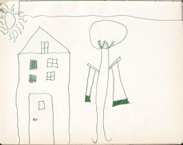 Untitled (Child's drawing), Illustration 29 in the book Sketchbook (Washington and New York)