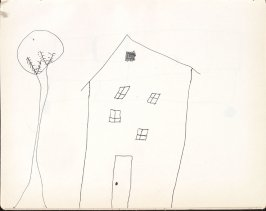 Untitled (Child's drawing), Illustration 31 in the book Sketchbook (Washington and New York)