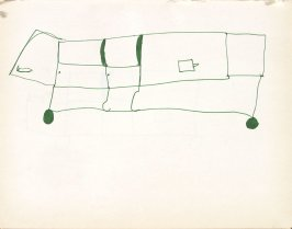 Untitled (Child's drawing), Illustration 32 in the book Sketchbook (Washington and New York)