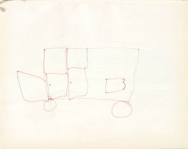 Untitled (Child's drawing), Illustration 34 in the book Sketchbook (Washington and New York)