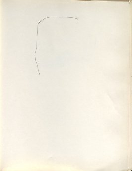 Untitled (Line), Illustration 41 in the book Sketchbook (Washington and New York)