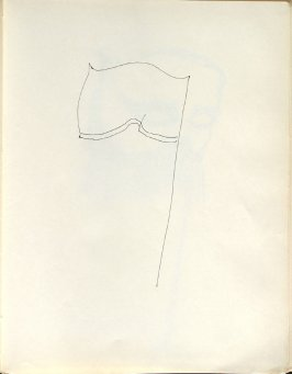 Untitled (Mask), Illustration 43 in the book Sketchbook (Washington and New York)