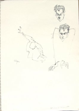 Peter Lane at The Committee, Illustration 10 in the book Sketchbook (San Francisco)