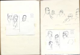 American Jewish Congress Seminar on Civil Rights, Illustration 14 in the book Sketchbook (San Francisco)