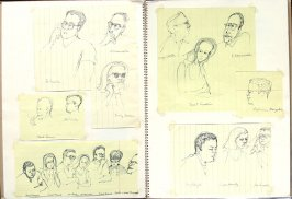 Untitled (American Jewish Congress Seminar on Civil Rights), Illustration 15 in the book Sketchbook (San Francisco)