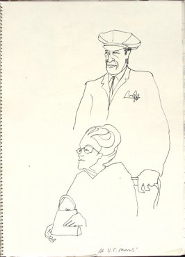 At V. C. Morris, Illustration 8 in the book Sketchbook (San Francisco)