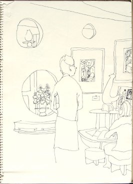 Untitled (V. C. Morris), Illustration 10 in the book Sketchbook (San Francisco)
