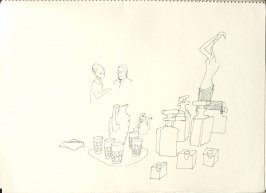 Untitled (V. C. Morris), Illustration 18 in the book Sketchbook (San Francisco)