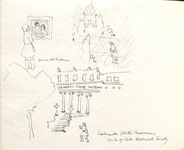 Colorado State Museum, Illustration 7 in the book Sketchbook (Denver and Salinas)