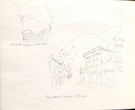 Red Rocks Theater, Illustration 9 in the book Sketchbook (Denver and Salinas)