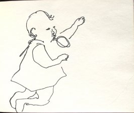 Untitled (Baby), Illustration 15 in the book Sketchbook (Denver and Salinas)