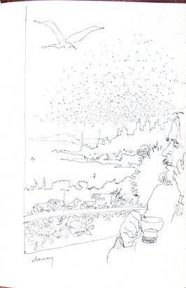 Bud Longing for the Sea, Illustration 46 in the book Sketchbook (Honeymoon)