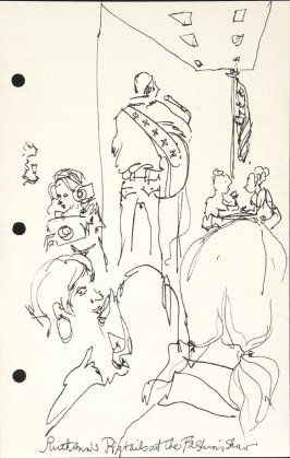 RuthAnn's Pigtails at the Fashion Show, Illustration 5 in the book Sketchbook (National Finals Rodeo)