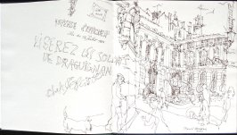 Place d'Albertas, Illustration 1 in the book Sketchbook (Paris and Amsterdam)