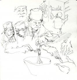Untitled (Josephine Araldo), Illustration 26 in the book Sketchbook (Paris and Amsterdam)