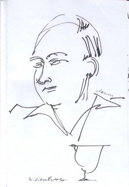 William Everson, Illustration 7 in the book Sketchbook (Western Film Conference)