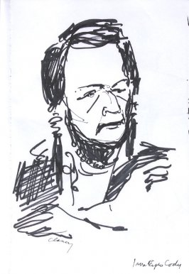 Iron Eyes Cody, Illustration 8 in the book Sketchbook (Western Film Conference)