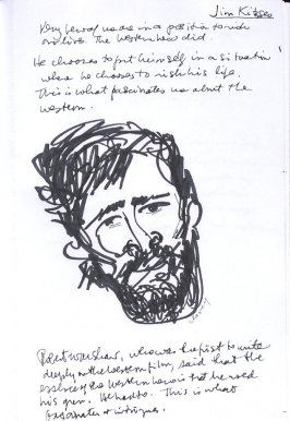 Jim Kitzses, Illustration 12 in the book Sketchbook (Western Film Conference)
