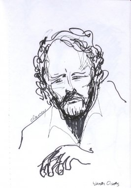 Warren Oates, Illustration 16 in the book Sketchbook (Western Film Conference)