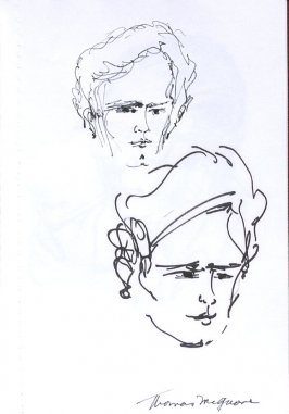 Thomas McGhane, Illustration 27 in the book Sketchbook (Western Film Conference)